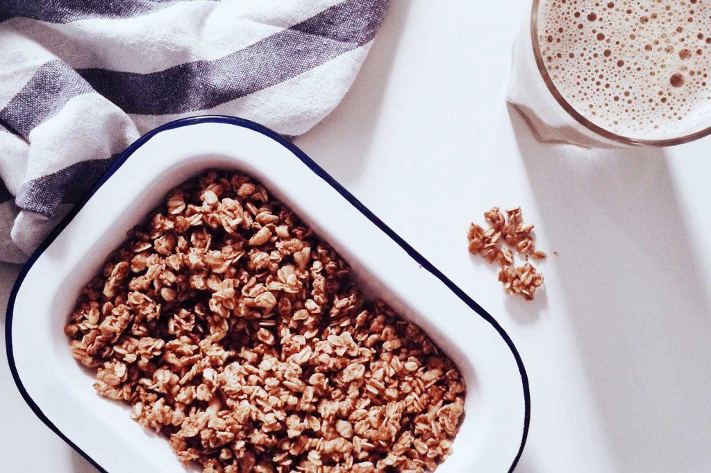 ontbijt voor je workout